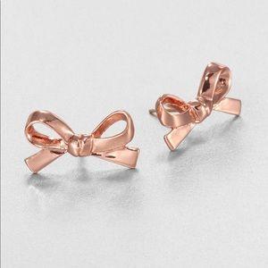 Kate Spade Rose Bow earrings